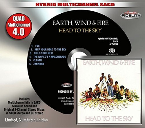 Earth Wind & Fire Head To The Sky