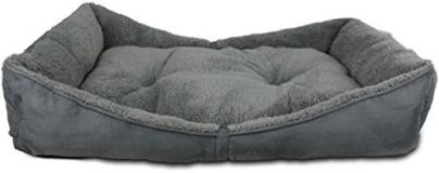 Afp Lambwool Bolster Bed Grey Med