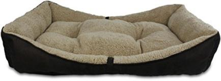 Afp Lambwool Bolster Bed Brown Md