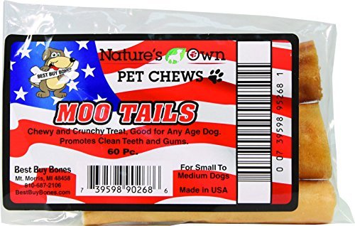 Natures Own Moo Tails Bulk Dog Chew Natures Own Moo Tails Bulk Dog Chew