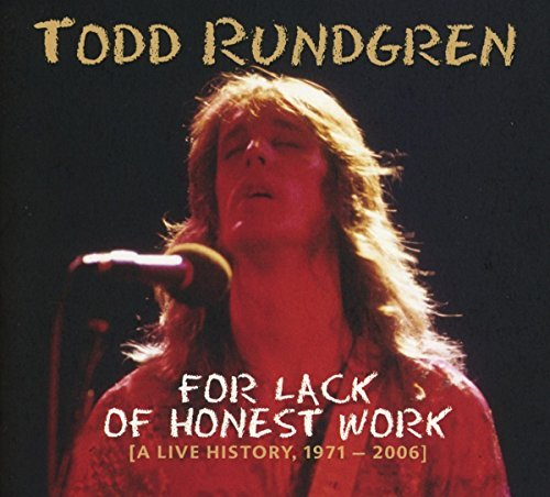 Todd Rundgren For Lack Of Honest Work Import Gbr