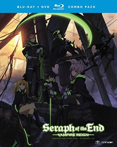 Seraph Of The End Vampire Reign Season 1 Part 1 Blu Ray DVD Nr