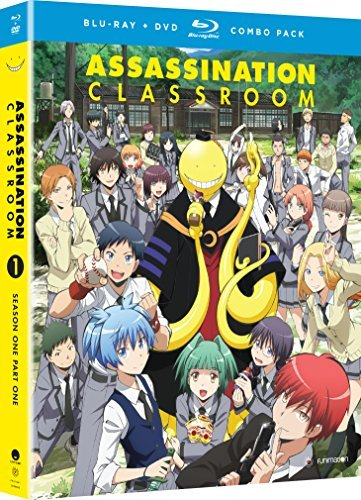Assassination Classroom Season 1 Part 1 Blu Ray DVD Nr
