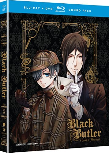 Black Butler Book Of Murder Black Butler Book Of Murder Blu Ray DVD Nr