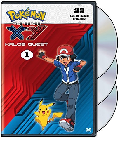Pokémon Xy Kalos Quest Set 1 DVD