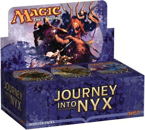 Magic The Gathering Cards Journey Into Nyx Full Display Of 36 Booster Packs