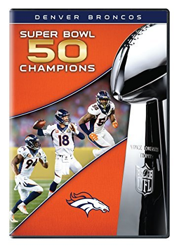 Denver Broncos Super Bowl 50 Champions DVD