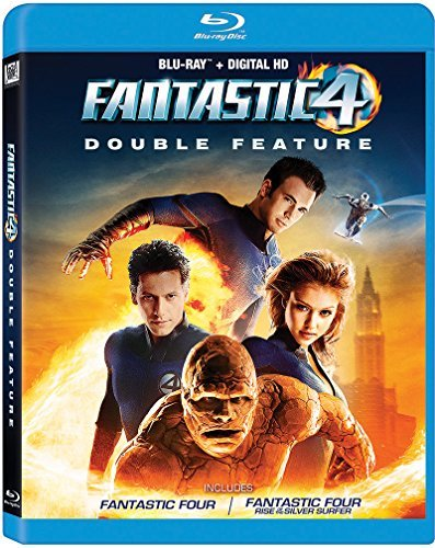 Fantastic Four Double Feature Blu Ray Pg