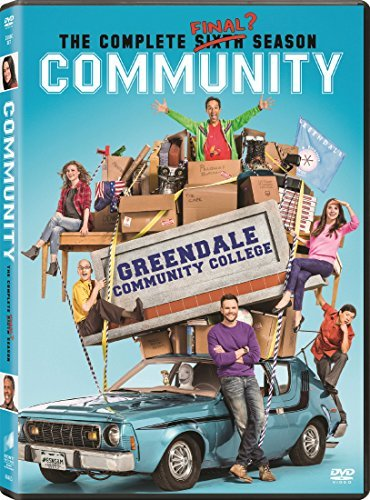 Community Season 6 DVD