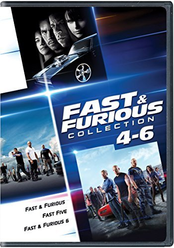 Fast & The Furious Collection 4 6 DVD