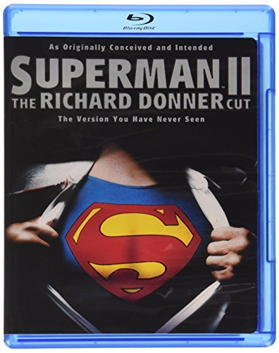 Superman 2 Reeve Hackman Brando Blu Ray Ws Richard Donner Cut Pg13 Incl. Movie Money