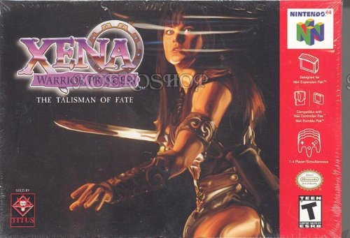 Nintendo 64 Xena Warrior Princess