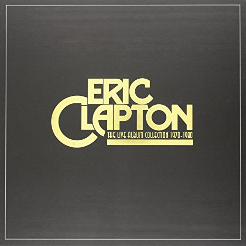 Eric Clapton Live Album Collection 6 Lp Box Set
