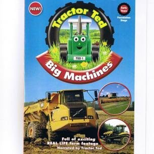 James Dâ€tmarcy James Dâ€tmarcy Trac Tractor Ted Big Machines DVD