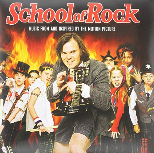 School Of Rock Soundtrack (red & Yellow Vinyl)