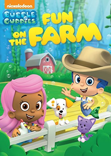 Bubble Guppies Fun On The Farm DVD