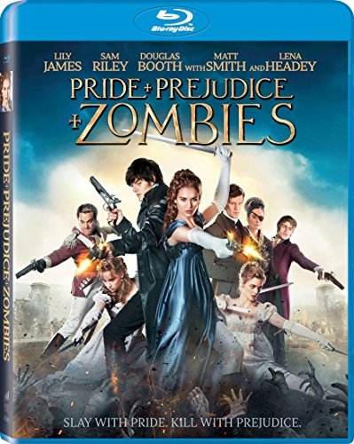 Pride & Prejudice & Zombies James Riley Huston Blu Ray Pg13