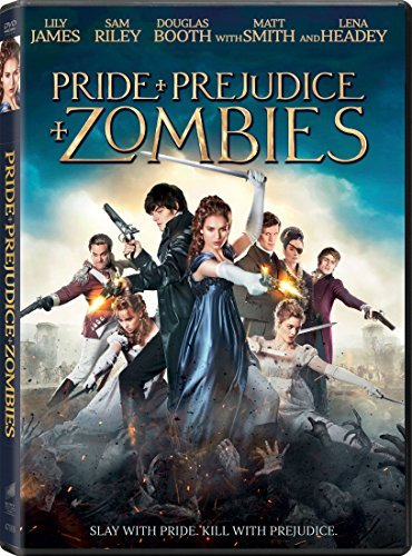 Pride & Prejudice & Zombies James Riley Huston DVD Pg13
