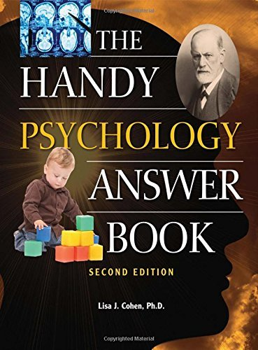 Lisa J. Cohen The Handy Psychology Answer Book