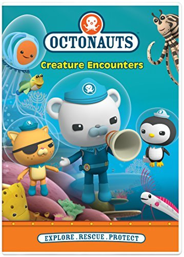 Octonauts Creature Encounters DVD