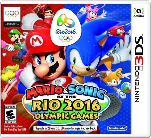 Nintendo 3ds Mario & Sonic At The Rio 2016 Olympic Games