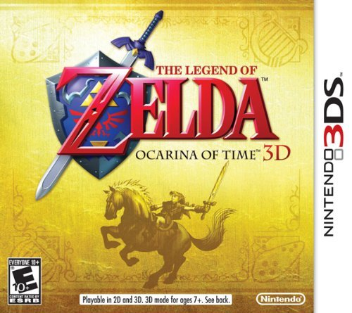 Nintendo 3ds Legend Of Zelda Ocarina Of Time 3d