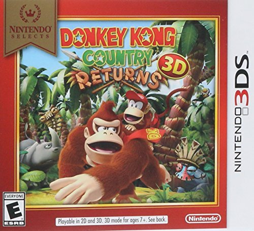 Nintendo 3ds Donkey Kong Country Returns 3d