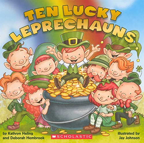 Kathryn Heling Ten Lucky Leprechauns Turtleback Scho