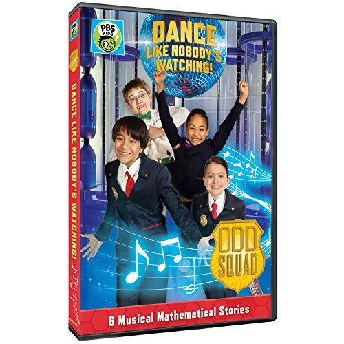 Odd Squad Dance Like Nobody Is Watching DVD