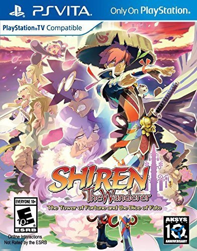 Playstation Vita Shiren The Wanderer Tower Of Fortune & Dice Of Fate