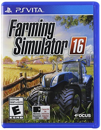 Playstation Vita Farming Simulator 16