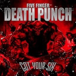 Five Finger Death Punch Got Your Six [picture Disc]