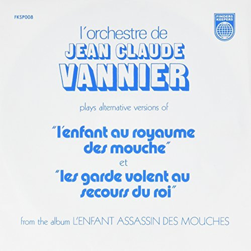 Jean Claude Vannier L'enfant Assassin Des Mouches Alternate Takes 7""