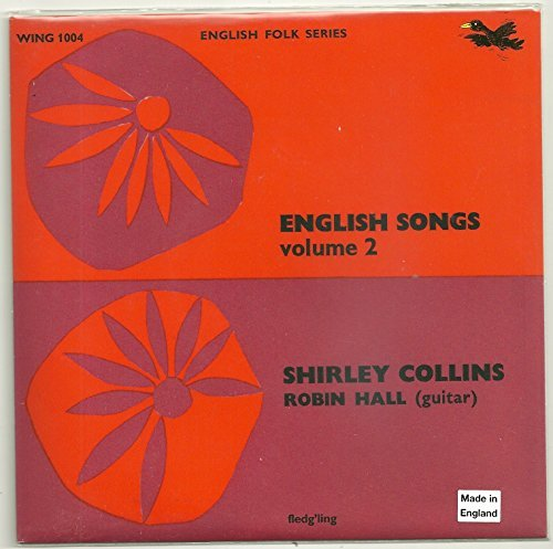 Shirley Collins English Songs Vol. 2 7""