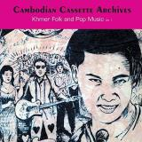 Cambodian Cassette Archives Khmer Folk & Pop Music Volume 1 2lp