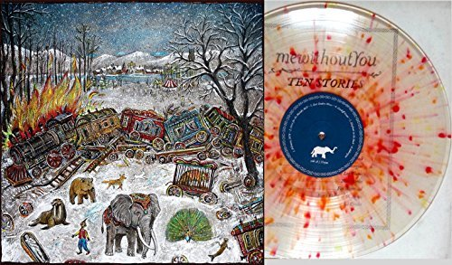 Mewithoutyou Ten Stories (clear With Red Orange Yellow Splatter Vinyl)