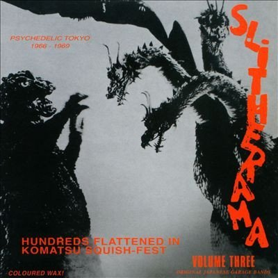 Slitherama Volume 3 Psychedelic Tokyo 1966 1969 Lp