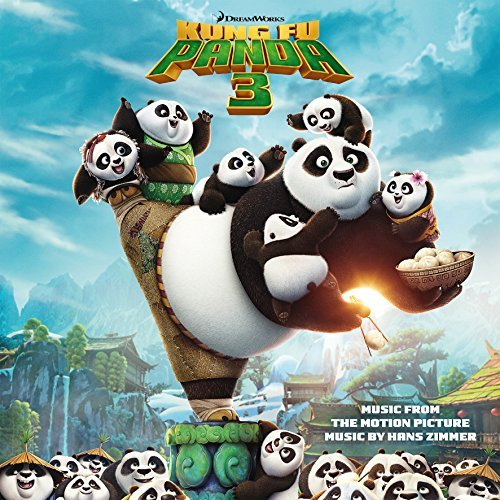 Kung Fu Panda 3 Soundtrack (black & White Vinyl) 2lp Limited Edition Hans Zimmer