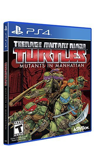 Ps4 Teenage Mutant Ninja Turtles Mutants In Manhattan