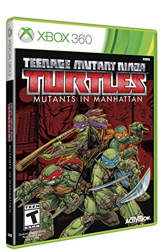 Xbox 360 Teenage Mutant Ninja Turtles Mutants In Manhattan