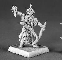 Miniature Kyra Female Iconic Cleric