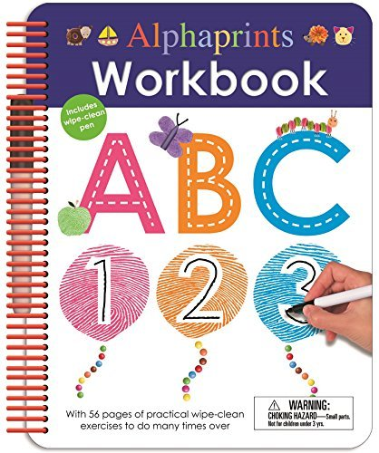 Roger Priddy Alphaprints Wipe Clean Workbook Abc