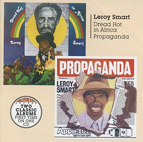 Leroy Smart Dread Hot In Africa + Propagan Import Gbr