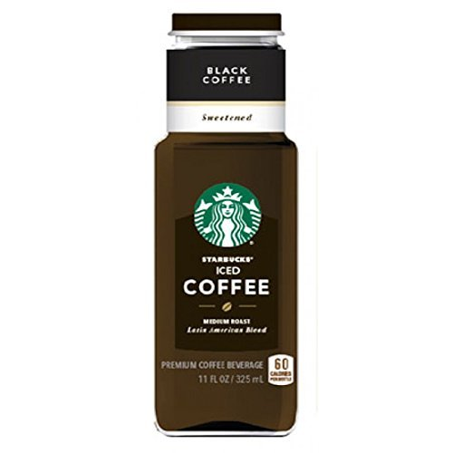Beverage Starbucks Iced Coffee Black Sweetened