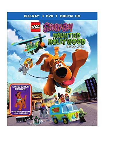 Lego Scooby Haunted Hollywood Blu Ray DVD Dc Figurine