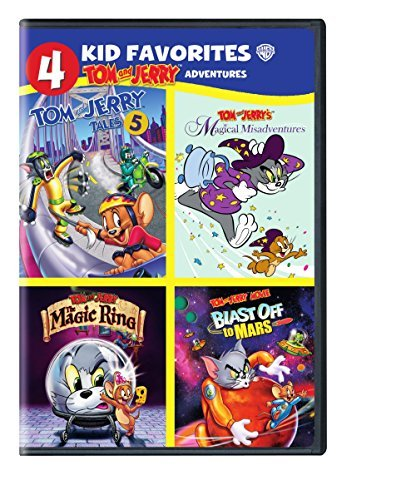 Tom And Jerry Adventures 4 Kid Favorites DVD