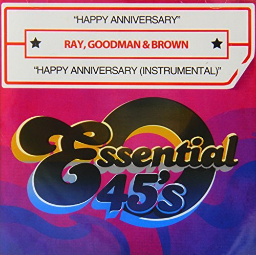Goodman & Brown Ray Happy Anniversary Happy Annive CD R Digital 45