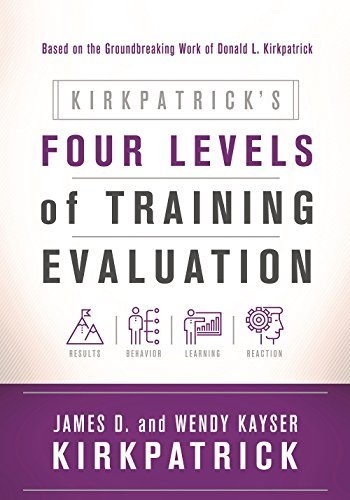 James D. Kirkpatrick Kirkpatrick's Four Levels Of Training Evaluation