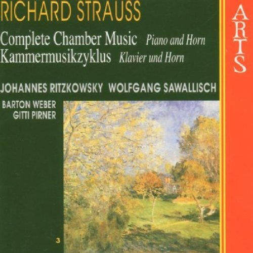 Richard Strauss Chamber Music Vol. 3