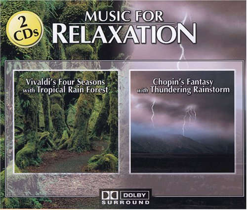 Music For Relaxation Vivaldi Four Seasons Chopin 2 CD Set Music For Relaxation